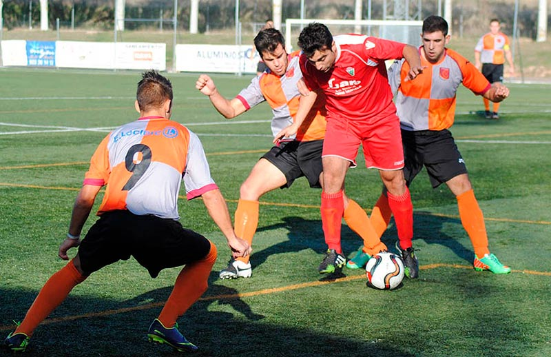 El partido de regional de aficionados entre el Carbajosa y la Veguellina.