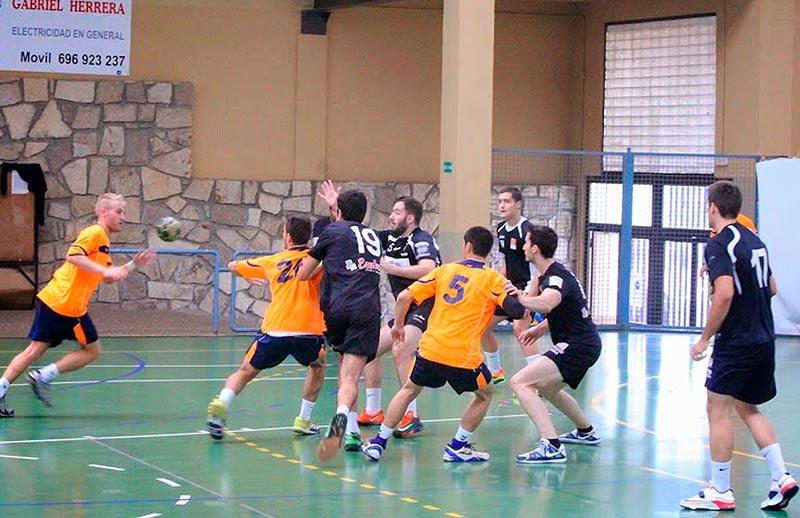 Un partido del BM Ciudad de Salamanca en casa.