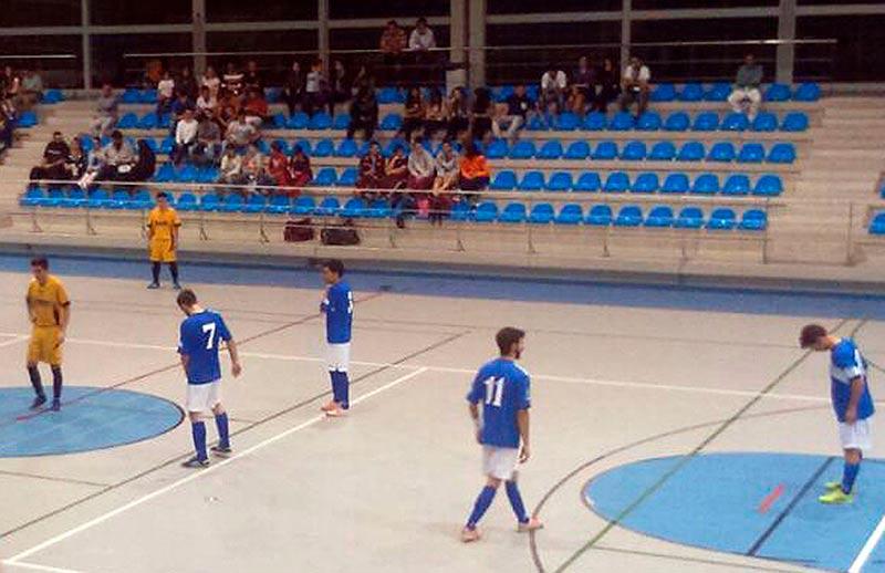 Un lance del partido disputado en Ciudad Rodrigo.