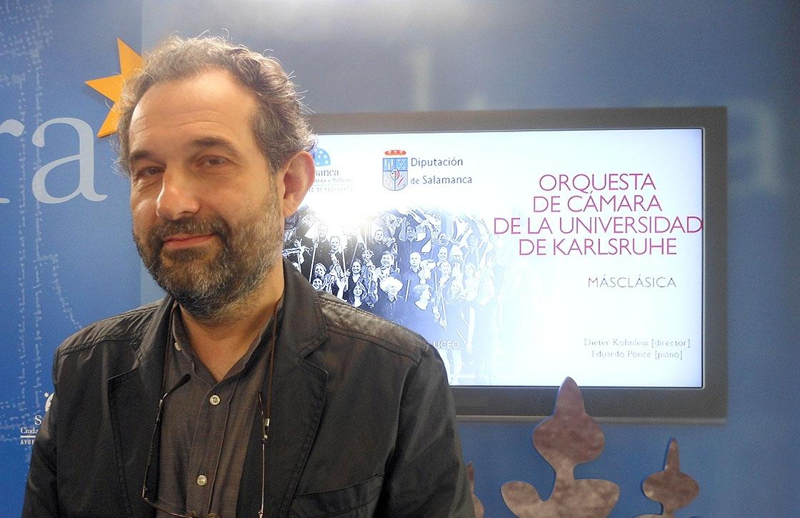 El pianista Eduardo Ponce.