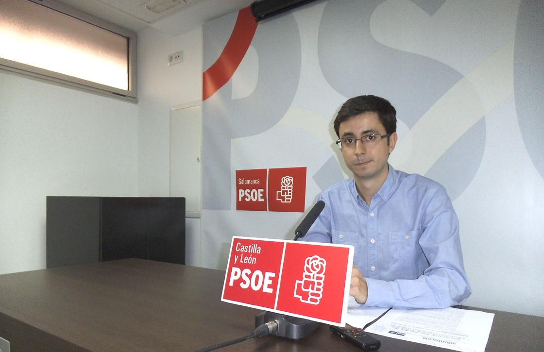 El secretario de Organización del PSOE de Salamanca, José Luis Mateos.