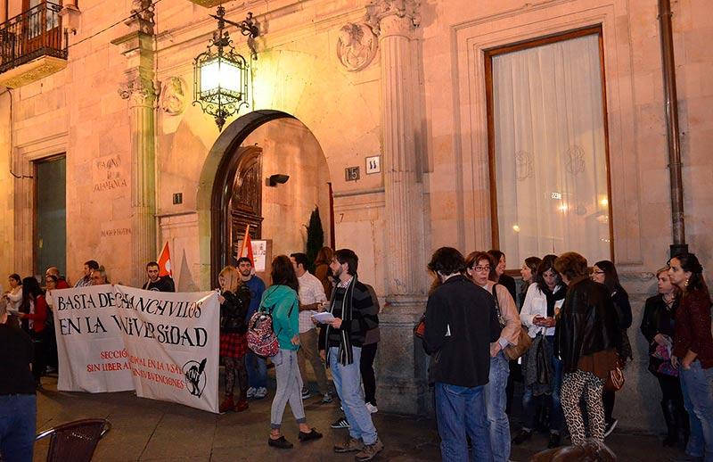 opositores usal protesta oposiciones