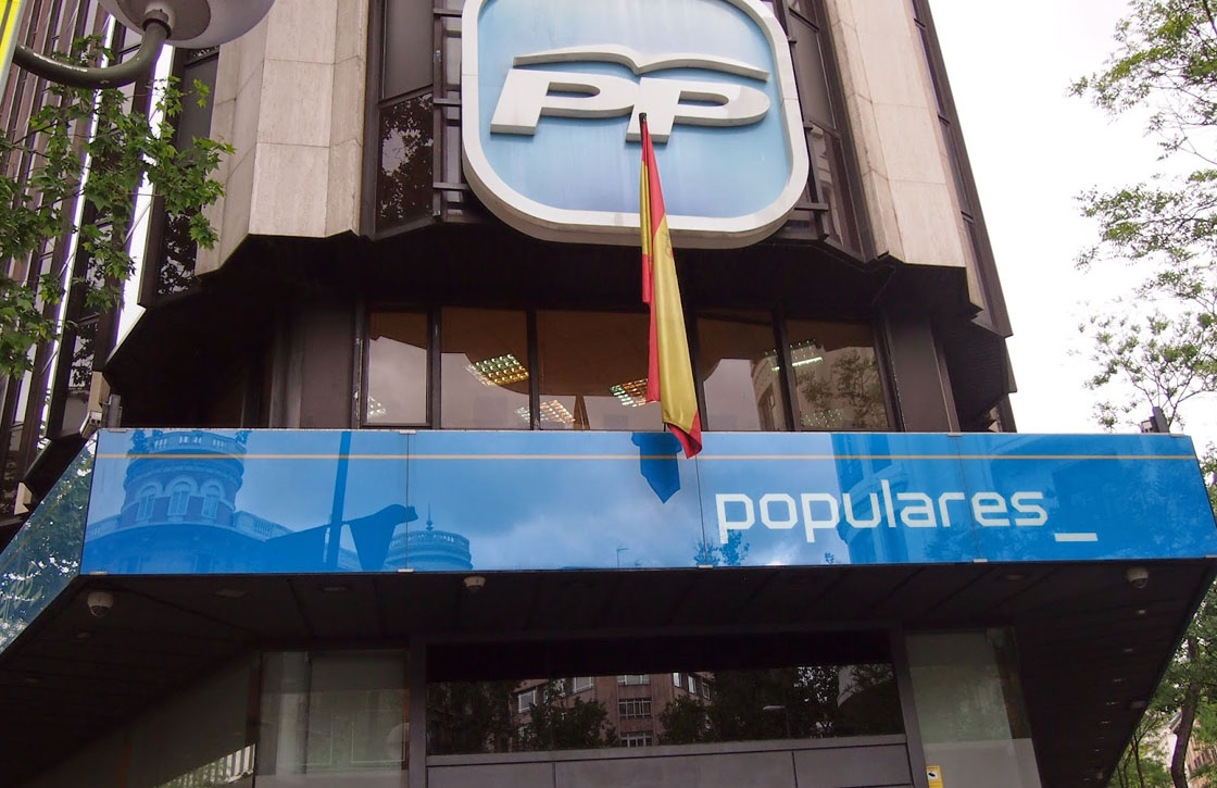 La sede del PP en la calle Génova de Madrid.