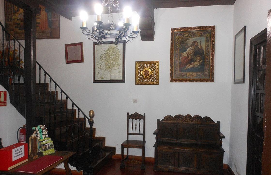 La casa de la santa en Salamanca.