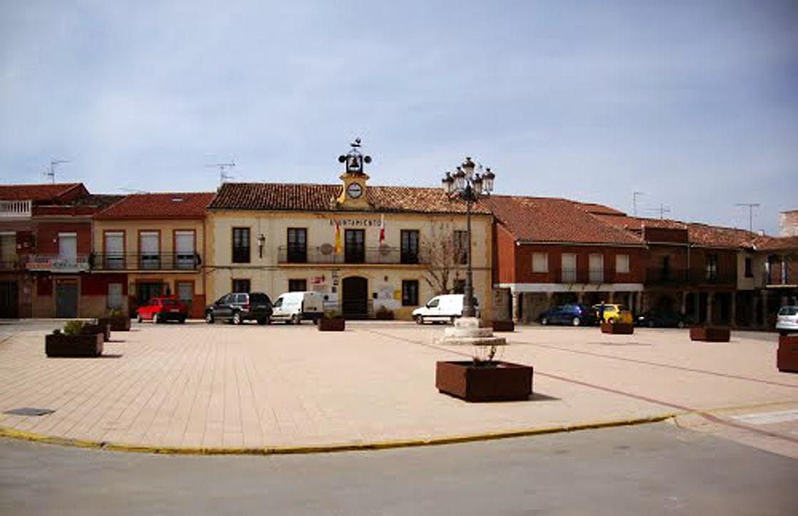 El Ayuntamiento de Trijueque, una de las localidades donde actuaba.