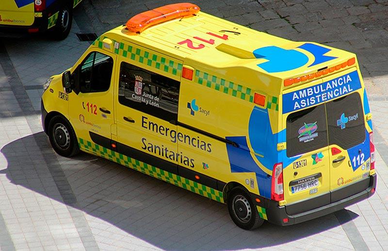 ambulancia medicalizada
