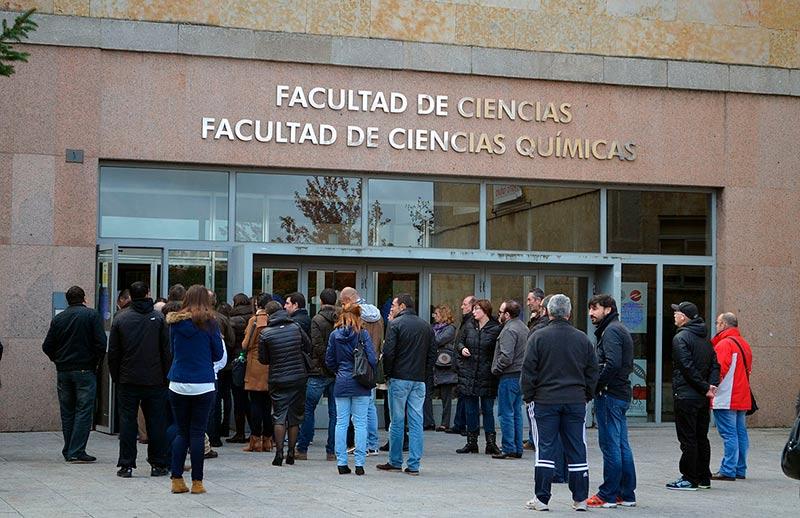 oposiciones pas universidad segunda prueba