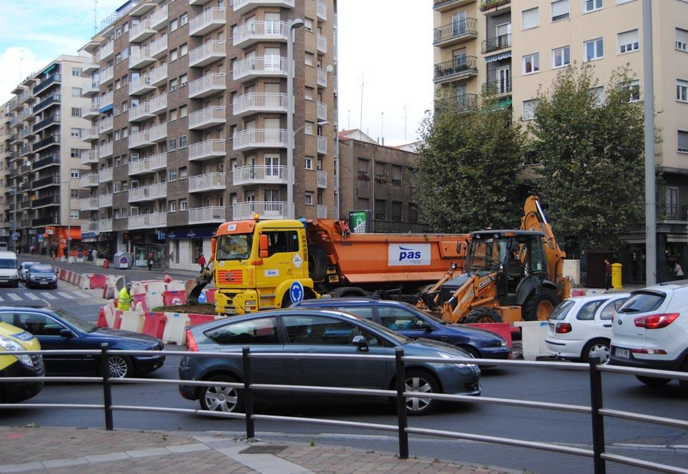 La rotonda de la UDS tiene un presupuesto superior al medio millón de euros y tardará en construirse unos cinco meses.