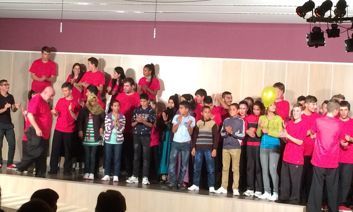 Santiago Uno albergó a un grupo de jóvenes marroquíes para potenciar la interculturalidad