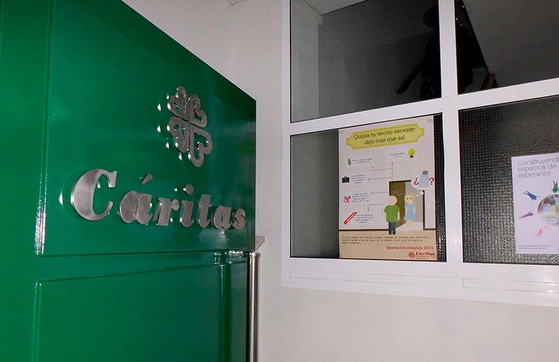 La sede de Cáritas en Salamanca.