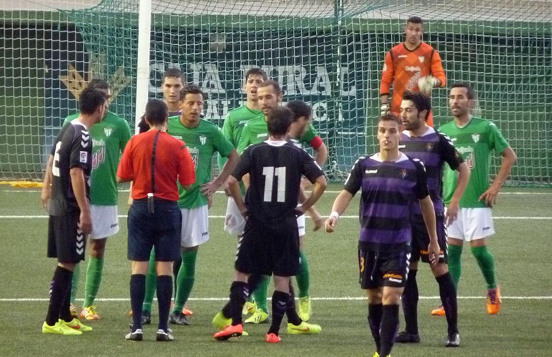 Los guijueleneses no pudieron pasar del empate contra el filial del Real Valladolid.