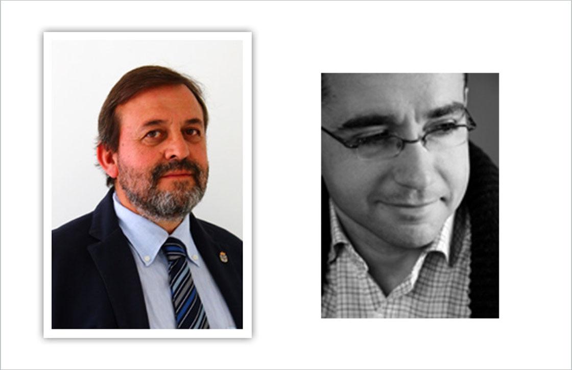 Miguel Ángel Moreno (izquierda) y Óscar Sánchez.
