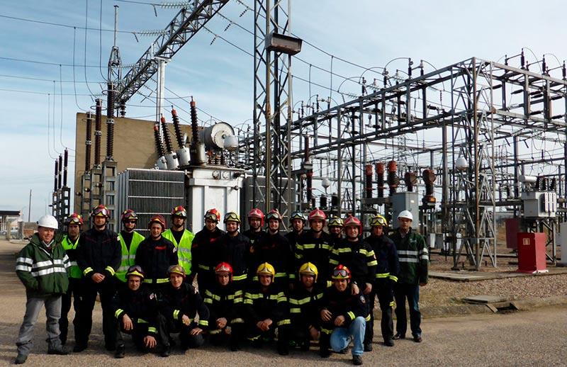 Bomberos Diputacion Salamanca en ST Villamayor