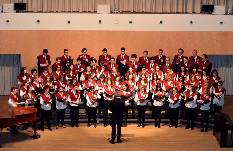 coro universidad concierto navidad