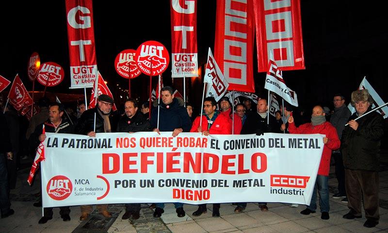 Sindicato Metal manifestación
