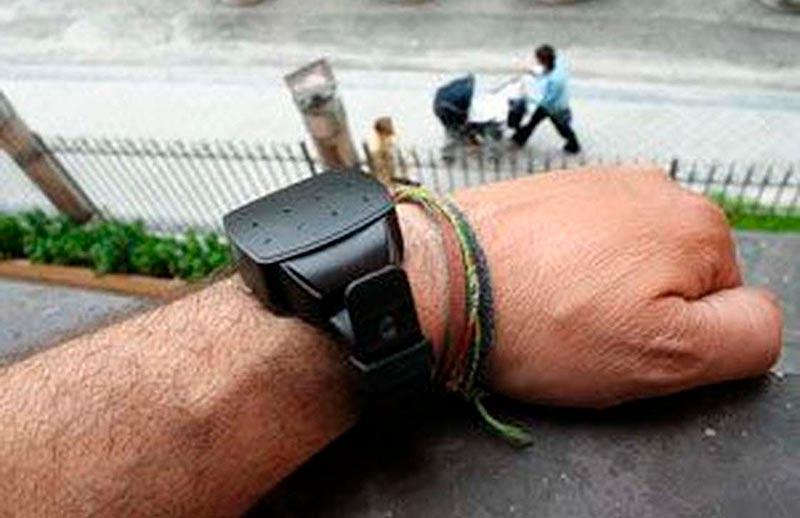Una pulsera gps para tener localizados a los maltratadores con órdenes de alejamiento.