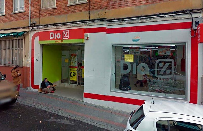 supermercado dia calle arapiles pobreza