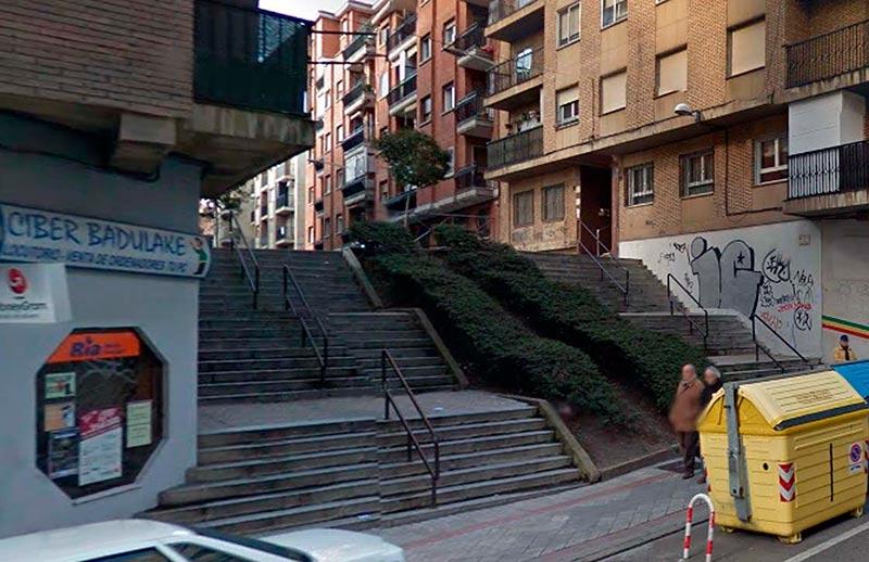 calle luis vives escaleras