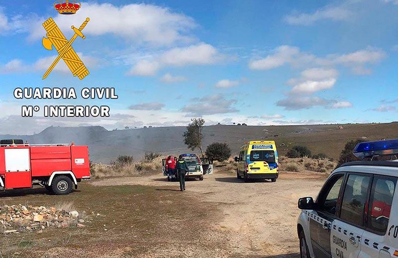 incendio morille guardia civil