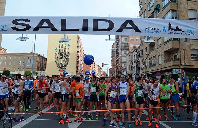 media maraton salida