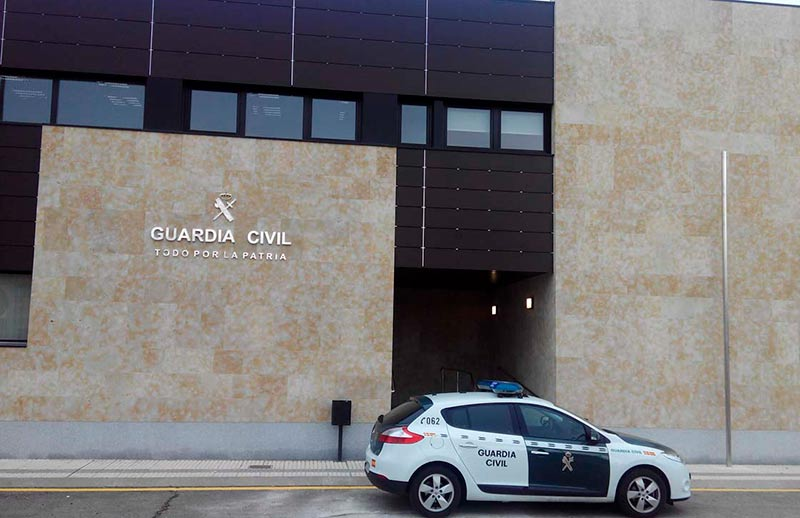 villares cuartel guardia civil