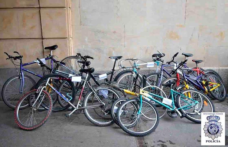 bicis robadas bicicletas