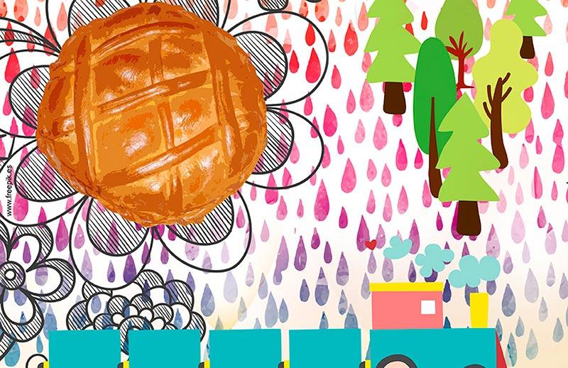 Un detalle del cartel del Lunes de Aguas de Guijuelo.