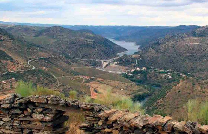 Una panorámica del Duero desde Hinojosa.