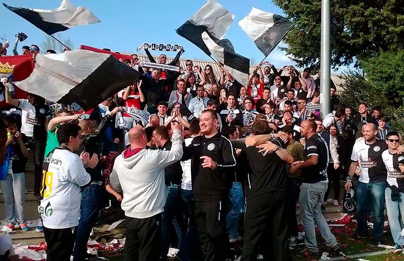 unionistas futbol celebracion ascenso