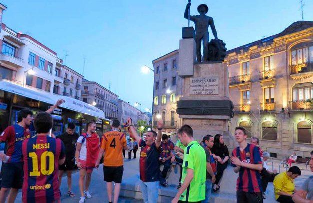 barcelona cules celebran liga