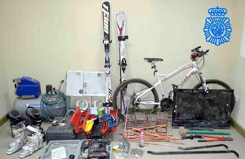 bici nuevo naharros policia