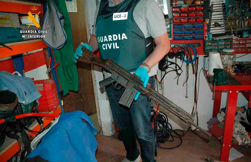 cetme guardia civil armas