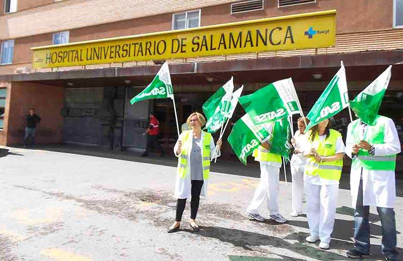satse enfermeras protesta recortes