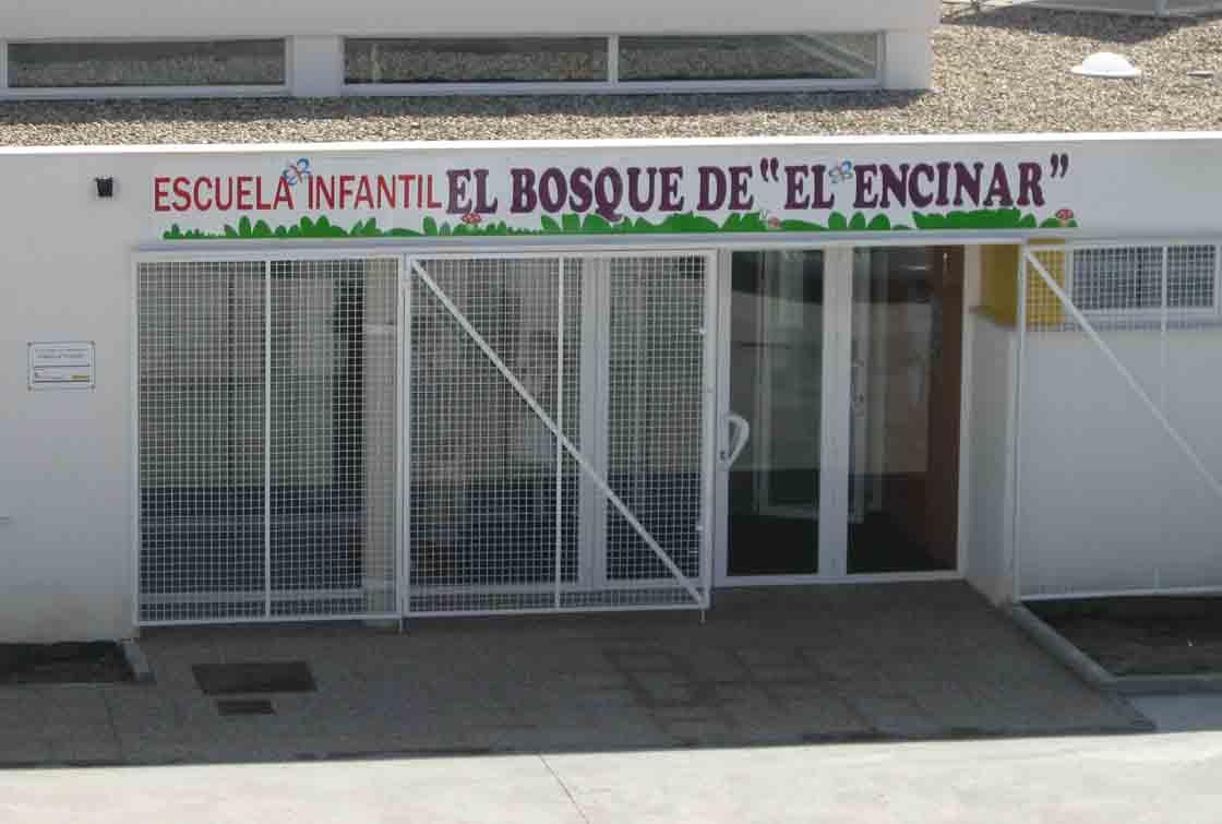 La escuela de Infantil de El Encinar.
