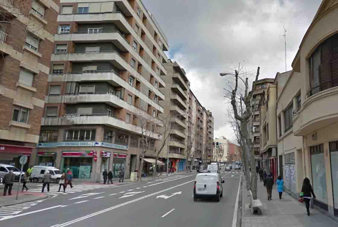 La calle María Auxiliadora.