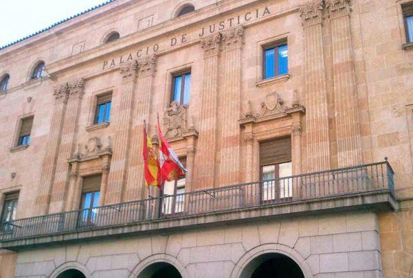 audiencia provincial palacio justicia franquismo escudo