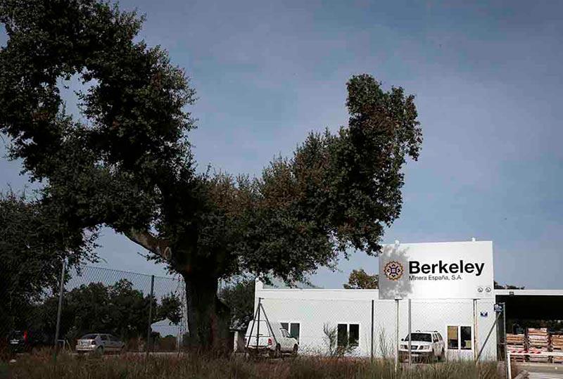 Instalaciones de Berkeley en Retortillo.