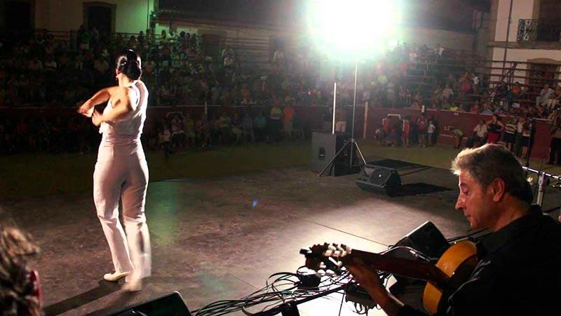 El grupo Patio Chico ofrece su recital y espectáculo de flamenco el sábado 15 a las 22.30 horas en los jardines de Santo Domingo.