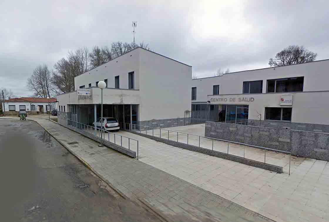 El centro de salud de Vitigudino,