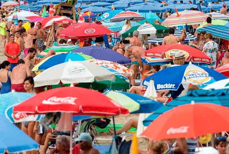 playa benidorm verano turismo imserso