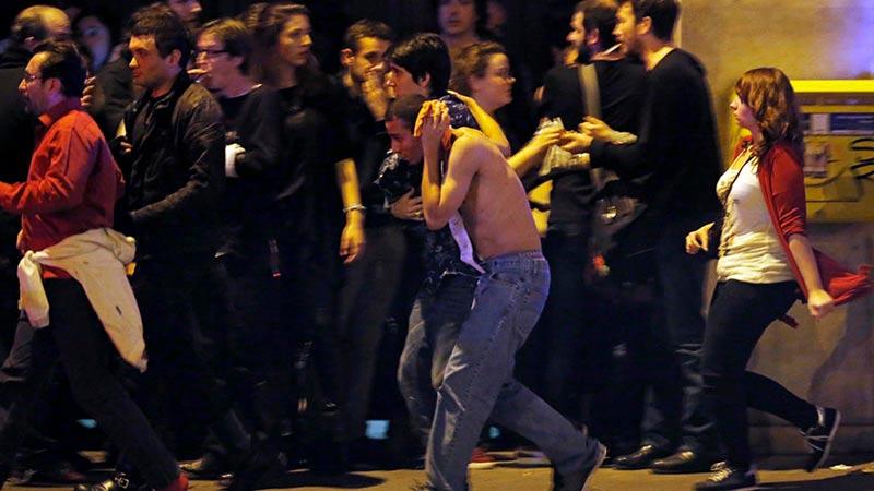 Decenas de muertos y de heridos en un ataque terrorista en París.