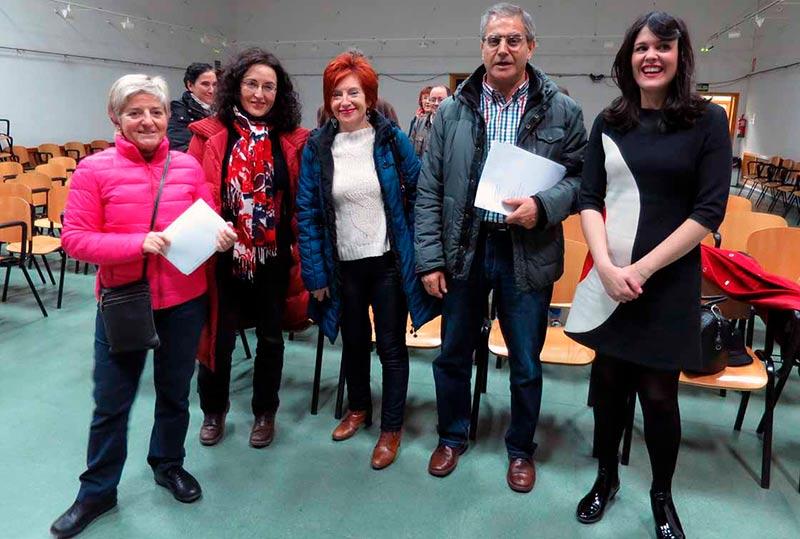 Ganemos celebró su asamblea informativa en el centro Miraltormes.