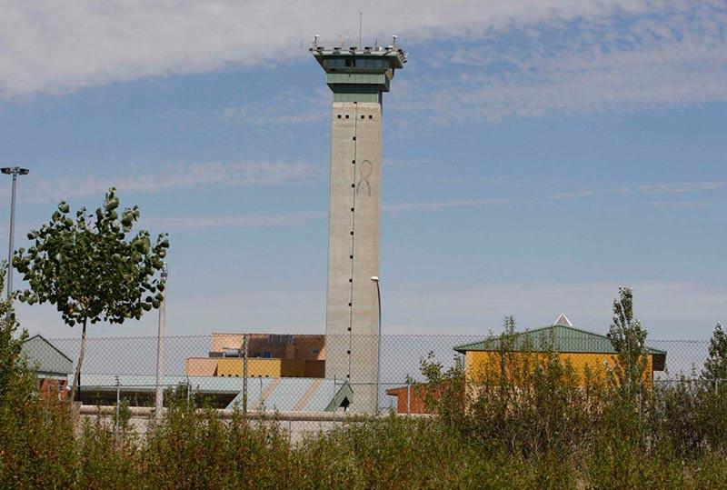 La torre de control de Topas.