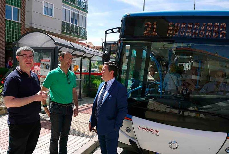 carbajosa Transporte en autobús 3