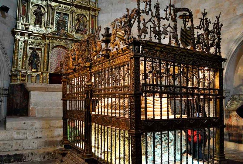 La capilla de San Bartolomé o de los Anaya, en la Catedral Vieja.