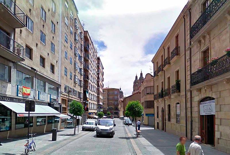 La calle Prado.