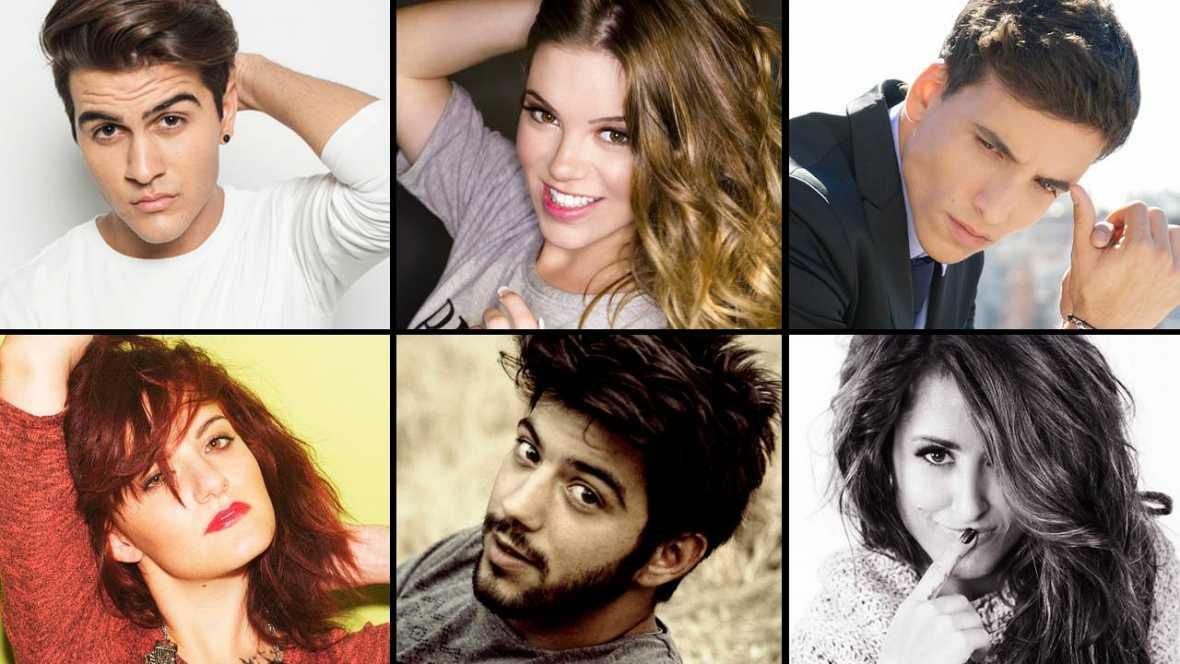 Los cantantes seleccionados para Eurovisión. ¿Qué canción te gusta más?