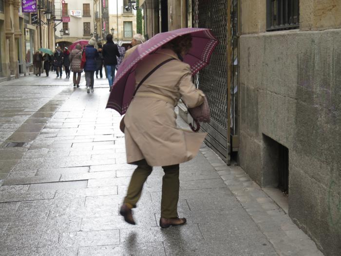 viento lluvia temporal