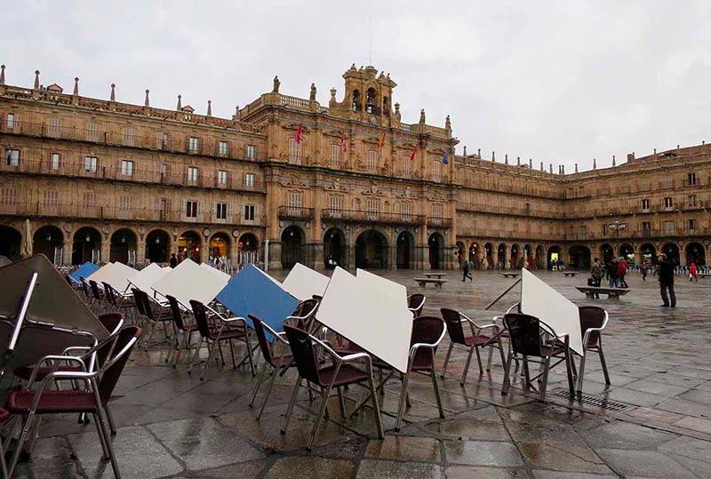 La Plaza Mayor,