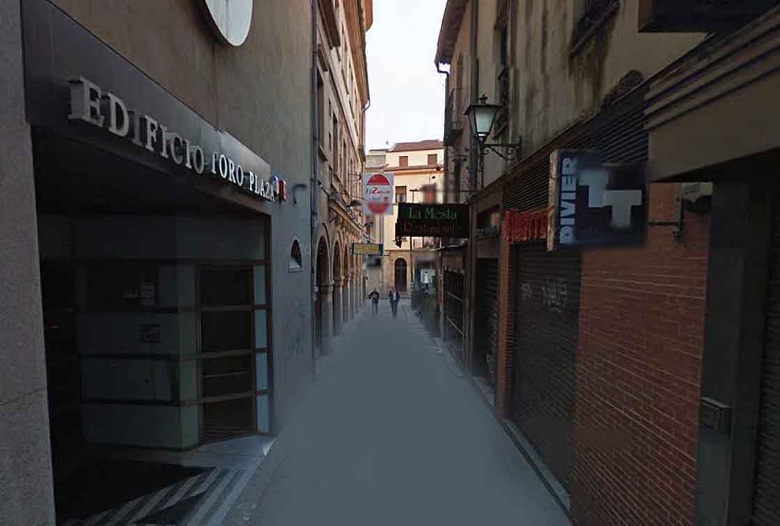 La calle Ventura Ruiz Aguilera.